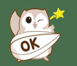 Cute Flying squirrel hari sticker #8422276