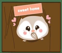 Cute Flying squirrel hari sticker #8422285