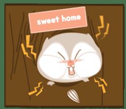Cute Flying squirrel hari sticker #8422286