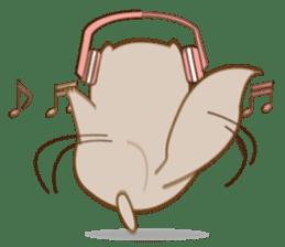 Cute Flying squirrel hari sticker #8422288