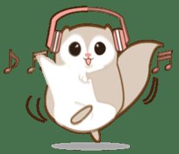 Cute Flying squirrel hari sticker #8422289