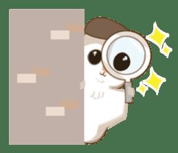 Cute Flying squirrel hari sticker #8422290