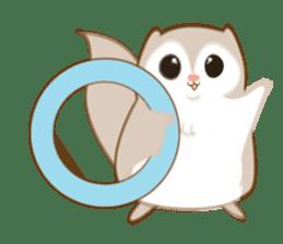 Cute Flying squirrel hari sticker #8422292