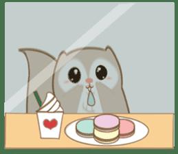 Cute Flying squirrel hari sticker #8422295