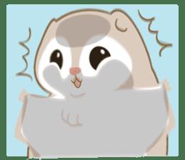Cute Flying squirrel hari sticker #8422297