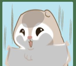 Cute Flying squirrel hari sticker #8422298