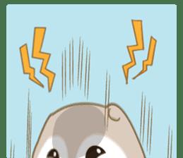 Cute Flying squirrel hari sticker #8422299