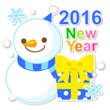 New Year Sticker 2016 sticker #8428144