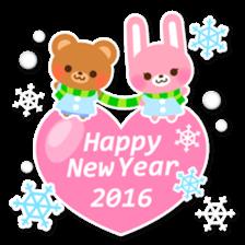 New Year Sticker 2016 sticker #8428148