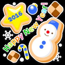 New Year Sticker 2016 sticker #8428149
