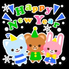 New Year Sticker 2016 sticker #8428151