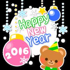 New Year Sticker 2016 sticker #8428152