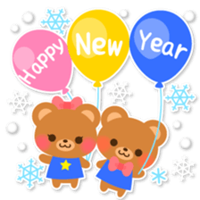 New Year Sticker 2016 sticker #8428155