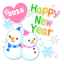 New Year Sticker 2016 sticker #8428158