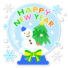 New Year Sticker 2016 sticker #8428159