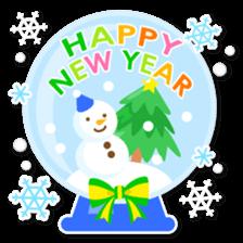 New Year Sticker 2016 sticker #8428159