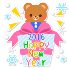 New Year Sticker 2016 sticker #8428162