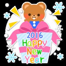 New Year Sticker 2016 sticker #8428162
