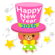 New Year Sticker 2016 sticker #8428166