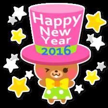 New Year Sticker 2016 sticker #8428166