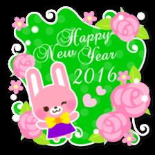 New Year Sticker 2016 sticker #8428168