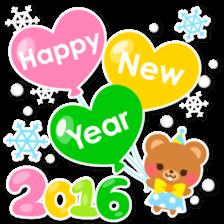 New Year Sticker 2016 sticker #8428169