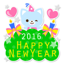 New Year Sticker 2016 sticker #8428171