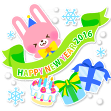 New Year Sticker 2016 sticker #8428172