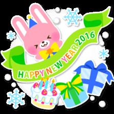 New Year Sticker 2016 sticker #8428172