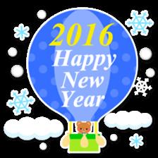 New Year Sticker 2016 sticker #8428173