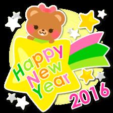 New Year Sticker 2016 sticker #8428174