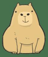 Hey Capybara! sticker #8432620