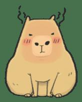 Hey Capybara! sticker #8432626
