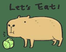 Hey Capybara! sticker #8432629