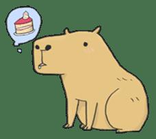 Hey Capybara! sticker #8432630