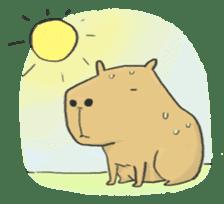 Hey Capybara! sticker #8432631