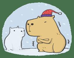 Hey Capybara! sticker #8432632