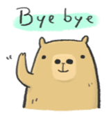 Hey Capybara! sticker #8432633