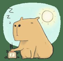 Hey Capybara! sticker #8432634