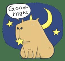 Hey Capybara! sticker #8432635
