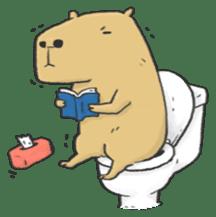 Hey Capybara! sticker #8432638