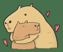 Hey Capybara! sticker #8432641