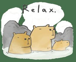 Hey Capybara! sticker #8432645