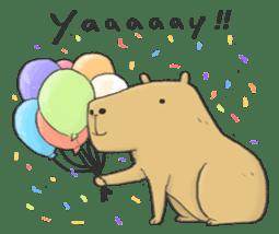 Hey Capybara! sticker #8432650