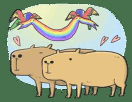 Hey Capybara! sticker #8432653