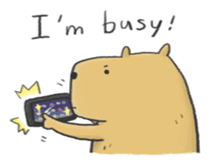 Hey Capybara! sticker #8432655