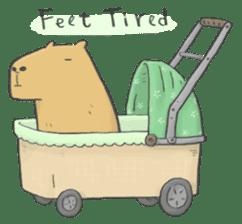 Hey Capybara! sticker #8432656