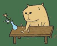Hey Capybara! sticker #8432658