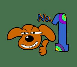 Salala-Super cute sausage dog sticker #8434382