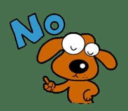 Salala-Super cute sausage dog sticker #8434390